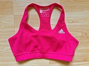 adidas Damen Unterwäsche Sport Techfit Bra, Größe S, pink