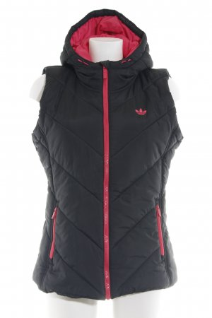 Adidas Down Jacket black allover print casual look