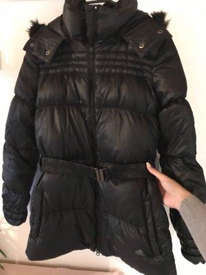 Adidas Abrigo de plumón negro