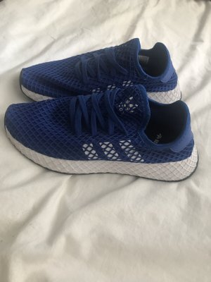 Adidas Deerupt, blau/weiß, Größe 38