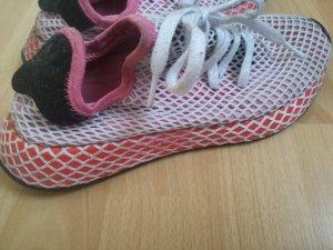 Adidas Originals Scarpa stringata rosso neon