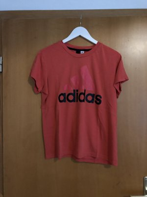 Adidas Camisa negro-magenta