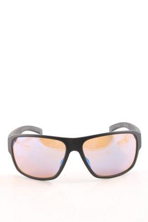 Adidas eckige Sonnenbrille schwarz Casual-Look