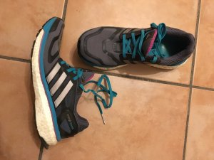 Adidas Energy Boost 38 2/3 Adiwear miCoach Techfit Schuhe Sneaker Turnschuhe