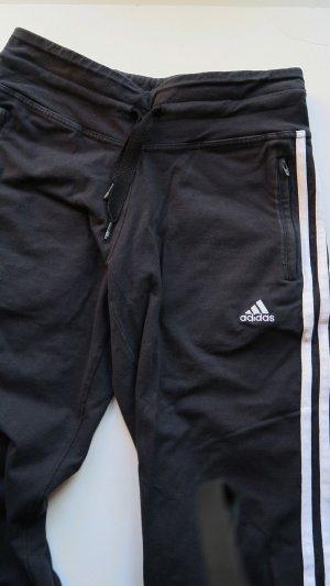 Adidas Pantalon de sport noir-blanc