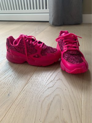 Adidas Falcon in Pink Glitzer