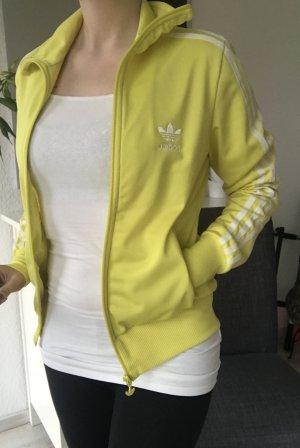 Adidas Originals Sportjack geel-neongeel Polyester