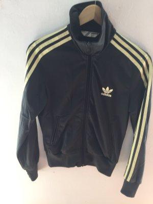 Adidas Originals Sportjack donkergroen-geel