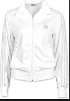 Adidas Chaleco deportivo blanco-color plata