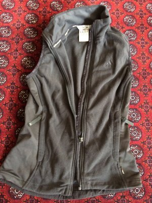 Adidas Fleece vest zwart Lycra