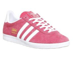 adidas gazelle 40 2/3 pink weiß Damen sneaker schuhe