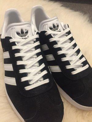 Adidas Gazelle black suede size 38