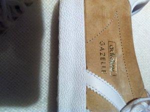 """ADIDAS """"Gazelle"""" Gr. 40,5 Wildleder Farbe: sandbraun/weiss"""