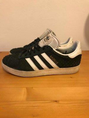 Adidas Gazelle in 38 Schwarz/Schlange
