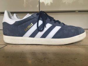 Adidas Originals Zapatilla brogue azul acero Gamuza