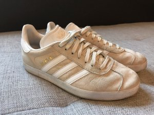 Adidas Gazelle  off white/white/gold metallic