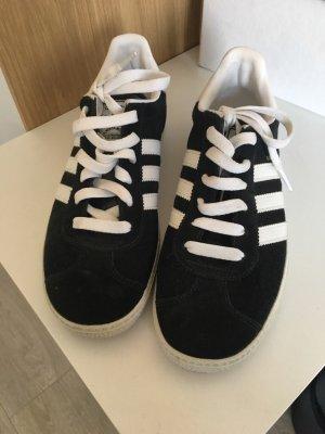 Adidas gazelle schwarz weiß us 6 gr 39
