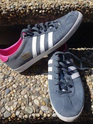 Adidas Originals Sneakers met veters donkergrijs