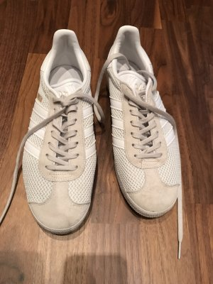 Adidas Gazelle weiß / grau gr 40,5 fast neu