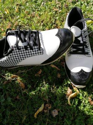 Adidas Veterschoenen wit-zwart