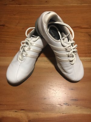 Adidas Basket blanc-argenté cuir