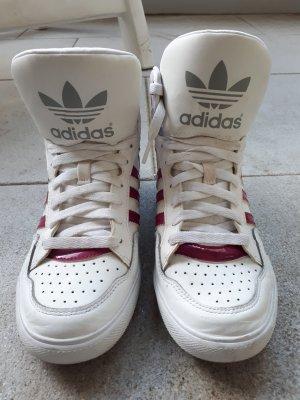 Adidas Gr. 40 weiß pink guter Zustand
