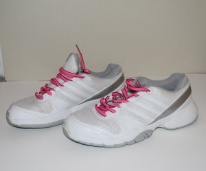 Adidas Hallenschuhe Opticourt Team Light Gr 38,5 Damen Indoor Schuhe