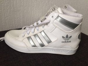 Adidas Hardcourt High Exclusives white/silver