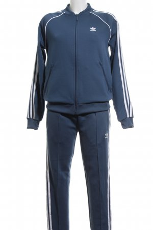 Adidas Leisure suit neon blue-white athletic style