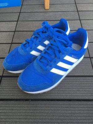 Adidas Originals Sneaker stringata bianco-blu