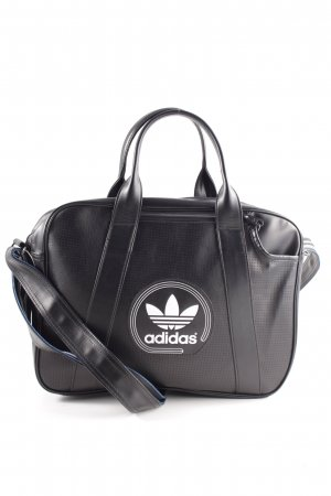 Adidas Carry Bag black themed print casual look