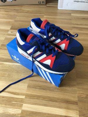 Adidas Sneakers met veters wit-blauw