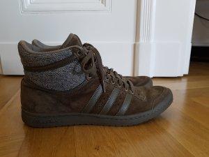 Adidas Hi sleek sneaker series khaki Tweed