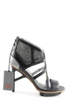 Adidas High Heels schwarz extravaganter Stil