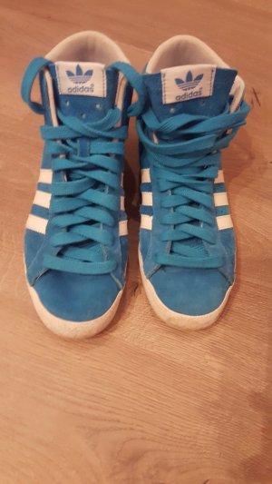 Adidas High Sleek Blau