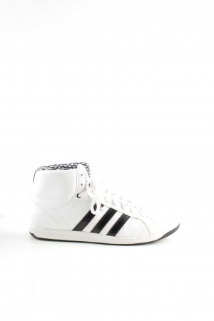 Schwarz Casual Sneaker Adidas High Top Weiß Look dChQrBstx