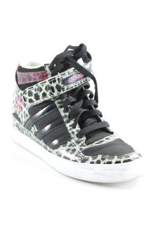 Adidas High Top Sneaker Animalmuster Casual-Look