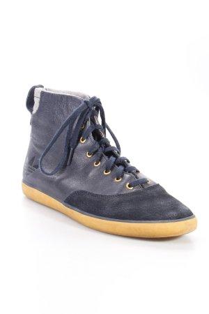 Adidas High Top Sneaker dunkelblau