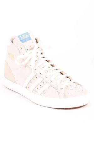 Adidas High Top Sneaker hellgrau-weiß sportlicher Stil