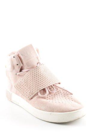 Adidas High Top Sneaker rosé-weiß sportlicher Stil