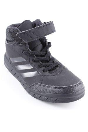 Adidas High Top Sneaker schwarz sportlicher Stil