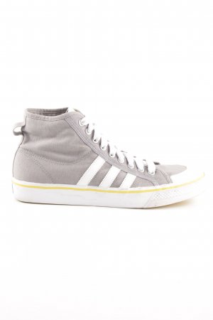 Adidas High Top Sneaker Streifenmuster Casual-Look