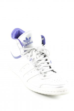 "Adidas High Top Sneaker ""Top Ten Hi Sleek"" silberfarben"