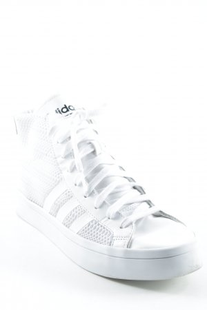 Adidas High Top Sneaker weiß Casual-Look