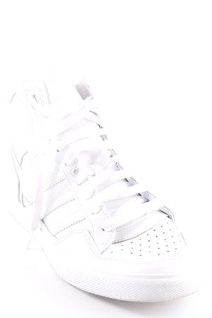 Adidas High Top Sneaker weiß sportlicher Stil