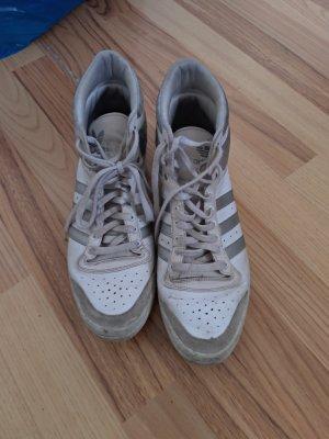 adidas high top weiß