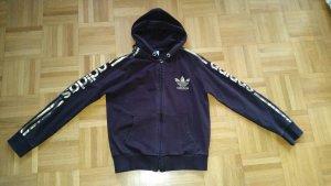 Adidas hoddie braun/gold