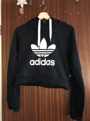 Adidas Jersey con capucha negro-blanco