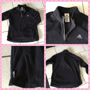 Adidas Sweat Jacket black mixture fibre