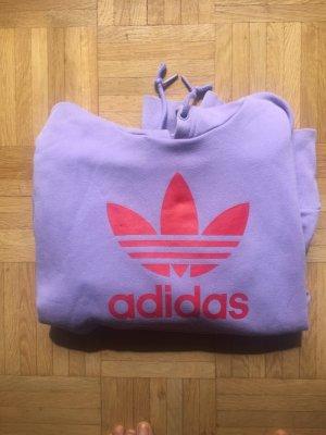 Adidas Jersey con capucha púrpura-rojo